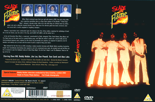 Slade In Flame DVD